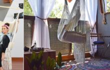 DIY: Bawełniany hamak – Zrób to sam