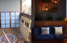 Metamorfoza balkonu DIY. Meble z palet