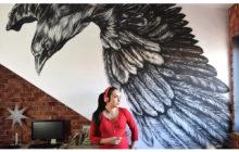 Metamorfoza: Mural kruk
