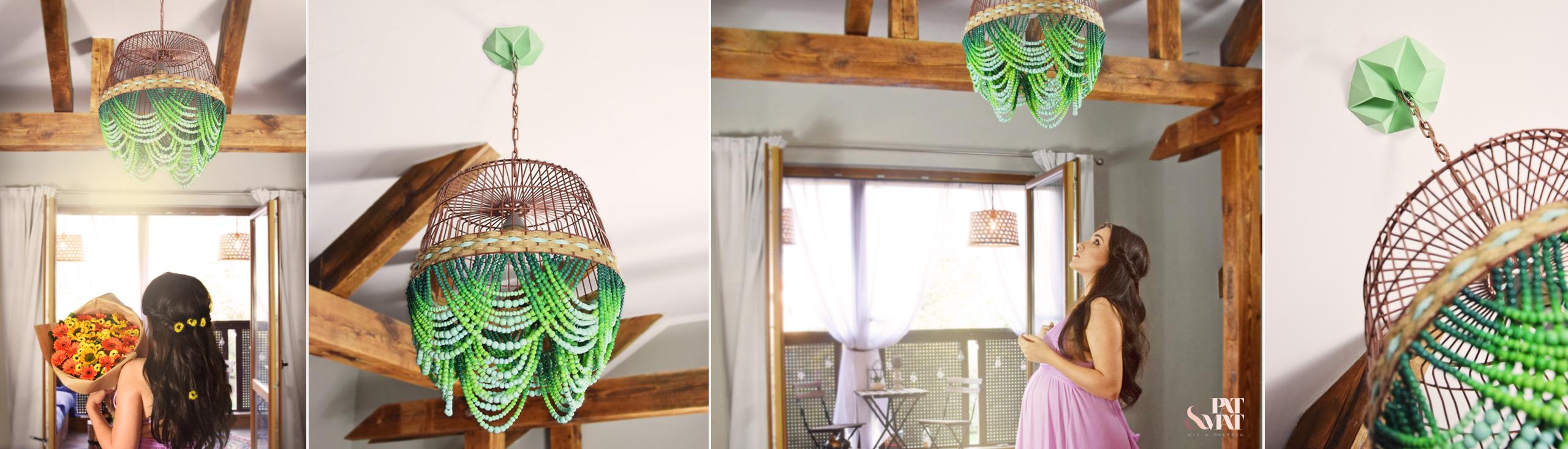 DIY: Etno lampa z koralików