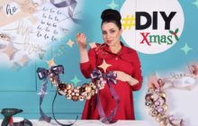 Christmas DIY: Świąteczny wianek HO HO HO