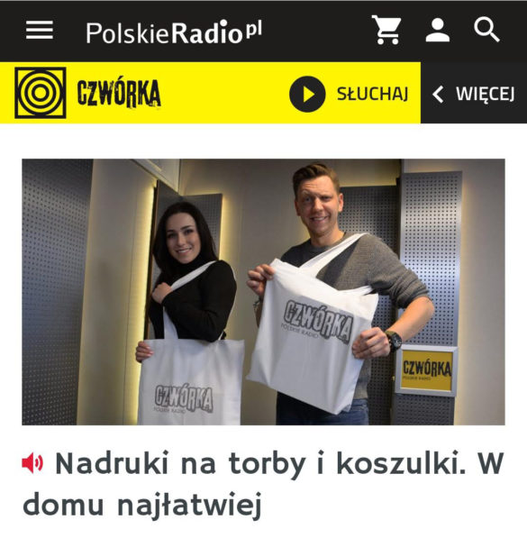 [Audycja na żywo] Czwórka Polskie radio 2019
