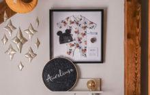 DIY [IKEA HACK]: Pamiątkowa gablotka niemowlęca