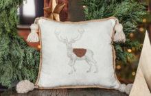 Christmas DIY: poduszka z jelonkiem
