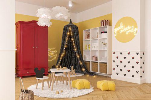 patmat pokoje dla dzieci pokój miszka mickey 08