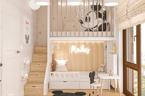 patmat pokoje dla dzieci pokój myszka miki